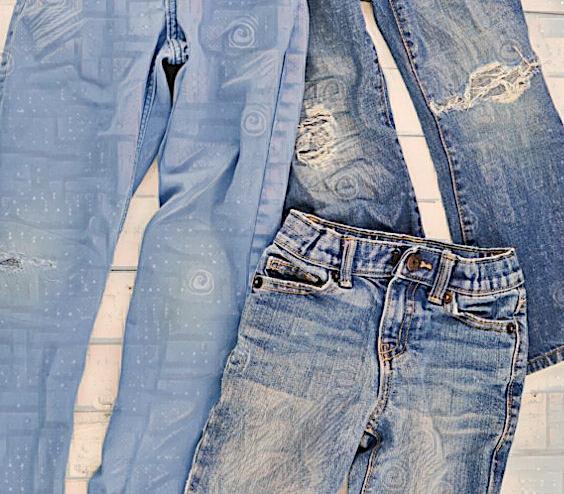 Потрошительница джинсов -16. Ставим заплатки