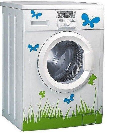 Как украсить стиральную машину: идеи и советы