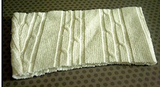 Старый свитер - это не только плед или варежки....