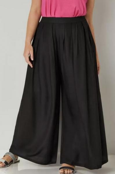 Широкие брюки из трикотажа - начало