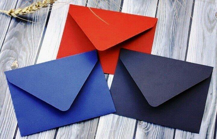 Как сделать конверт из бумаги своими руками: простые мастер-классы