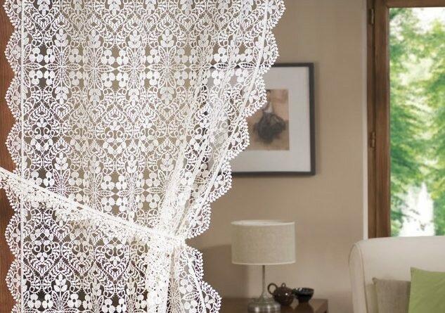 Декорирование дома с использованием вещей, связанных крючком