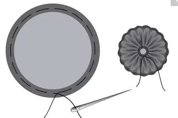 Трехярусная булавочница-цветок МК