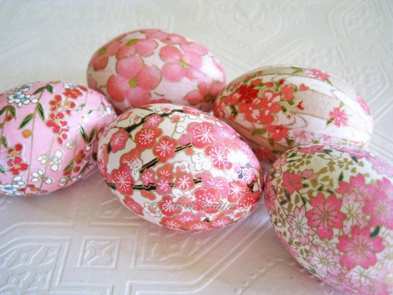 Декупаж яиц как один из способов пасхального декора