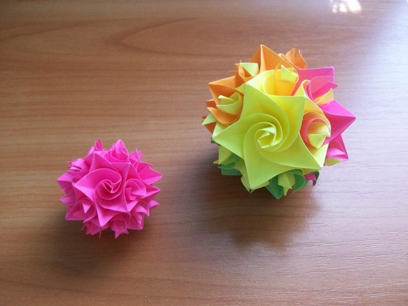 Мало кто умеет делать красивые шары из бумаги без клея. Подробный мастер-класс