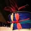 Декорируем цветочный горшок креповой бумагой